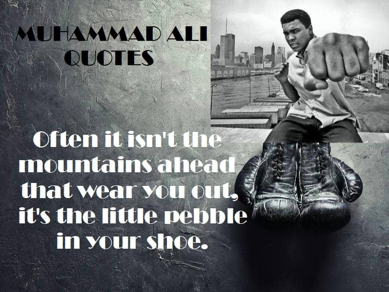 Mauhammad Ali quotes overcoming obstacles