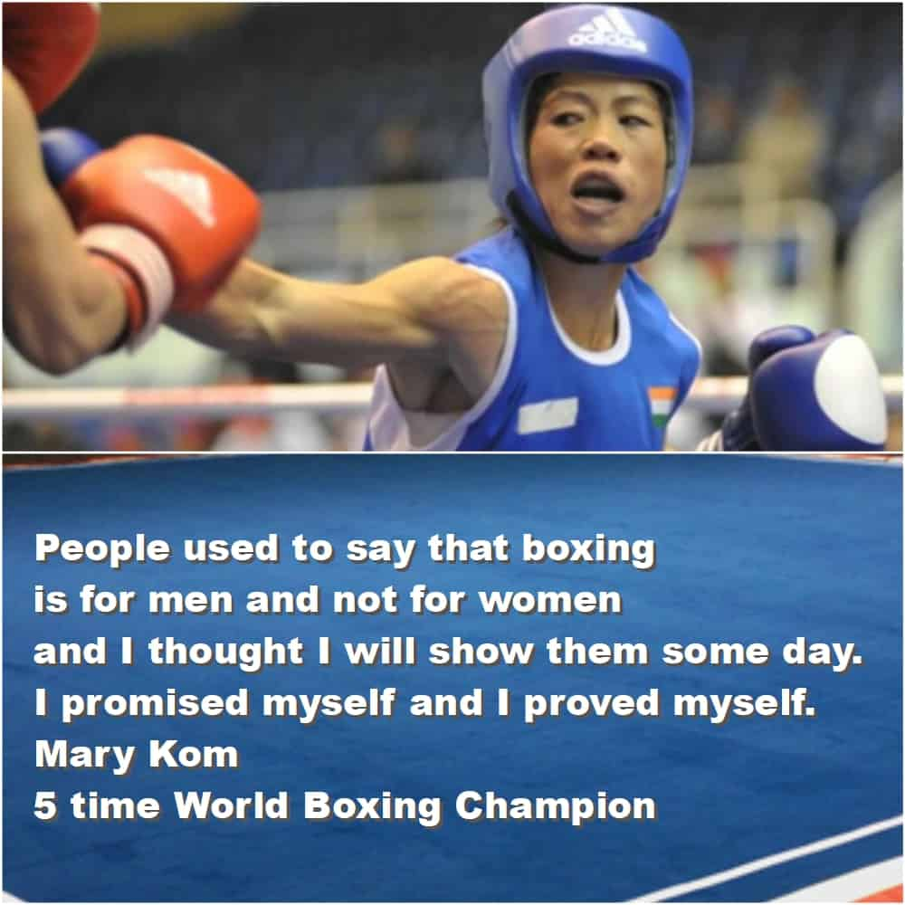 Top 10 Inspirational Sports quotes mary kom final