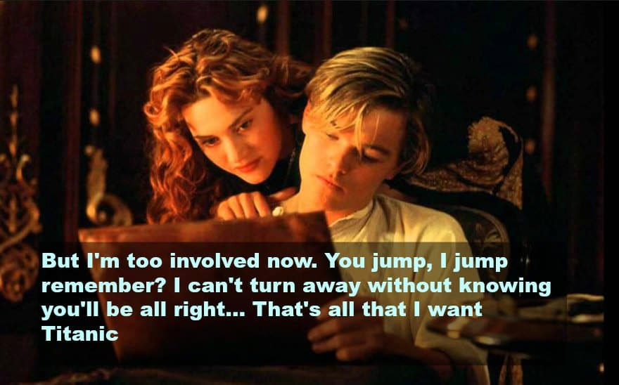 top 10 love quotes from the movies -titanic