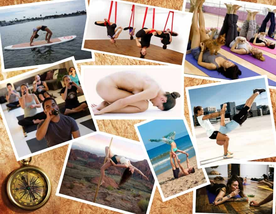 choosing right yoga style Collage 3