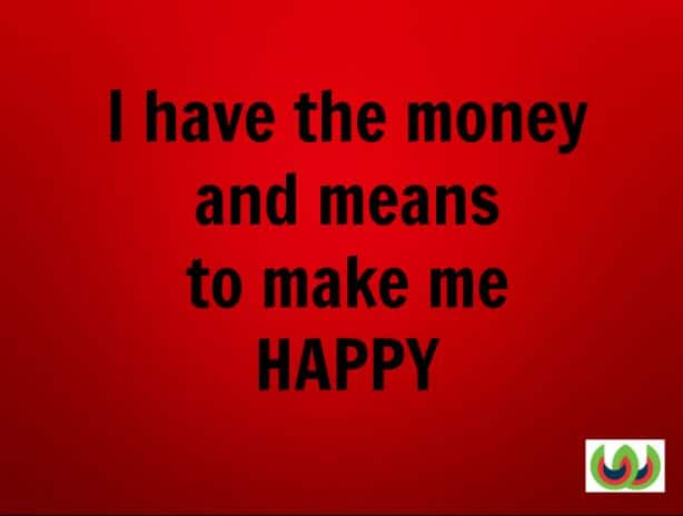 Money Affirmations Happy Quotes