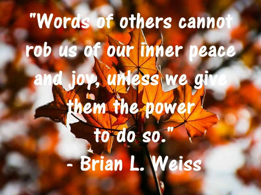 Joy Inner Peace Words Famous Quotes