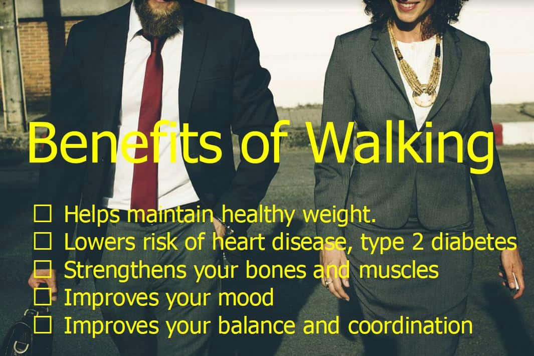 5 easy weight loss tips benefits of walking