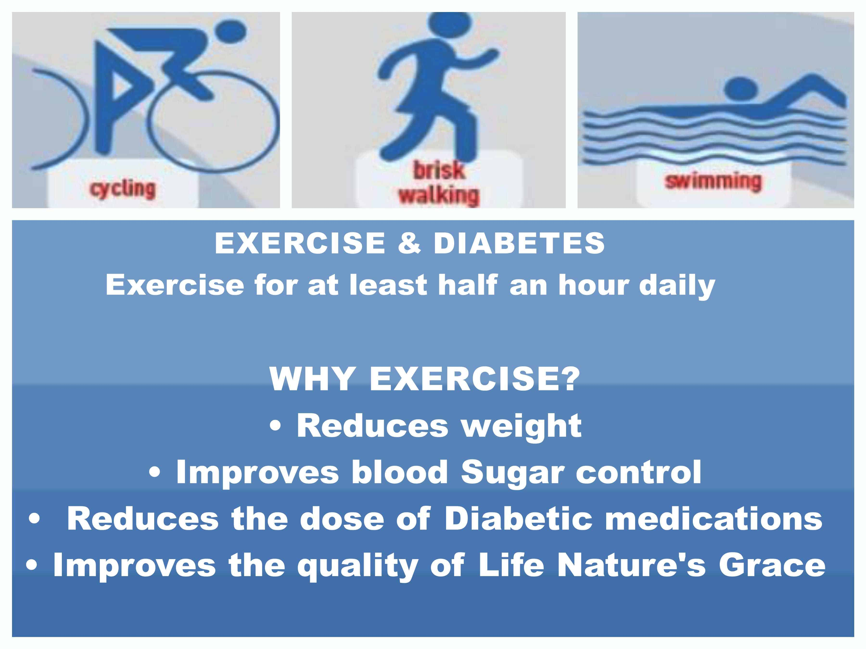 curing diabetes exercise