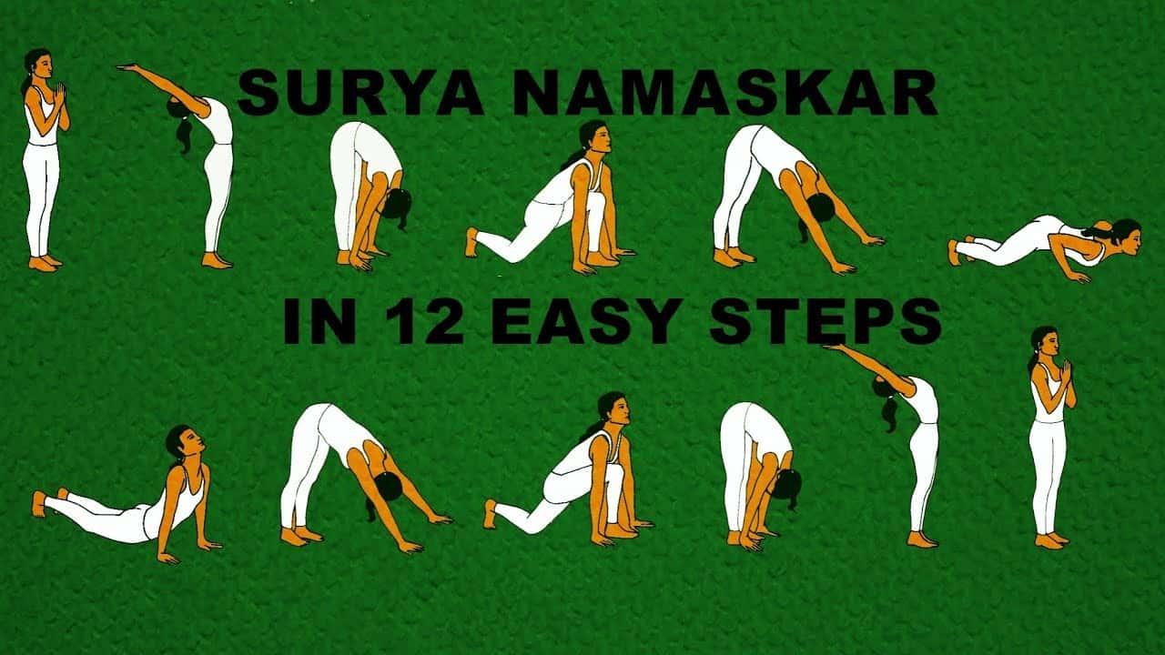 Surya Namaskar for Weight Loss, how to do Surya Namaskar for Weight Loss, Sun Salutation for weight loss
