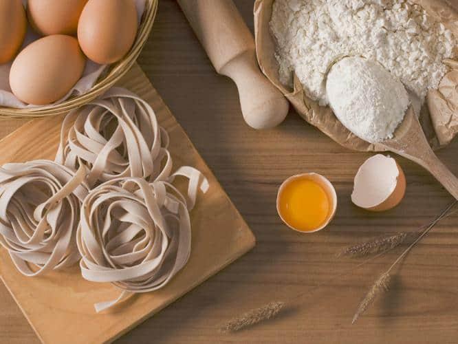 healthy food ingredients, ingredients of food, healthy diet, eggs are healthy, pasta, cooking is meditation