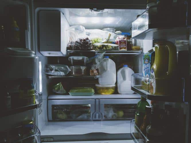 refrigerated food, refrigerator, food, frozen food, cooking, mindfulness