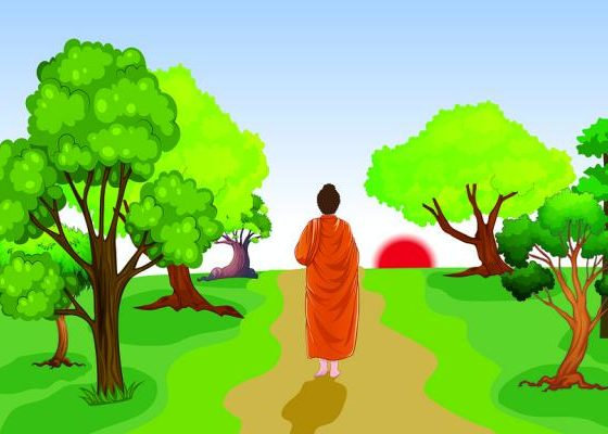 the-empty-boat-story-zen-lessons-on-anger-buddha-meditating-garden