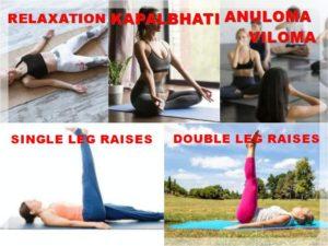 how to do 12 basic yoga poses asanas names steps