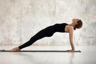 how to perform purvottanasana inclined pose upward plank